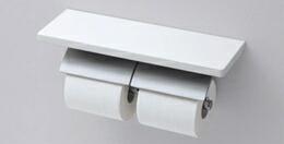 【YH63KM】トートー 棚付二連紙巻器 マットタイプ 【TOTO】