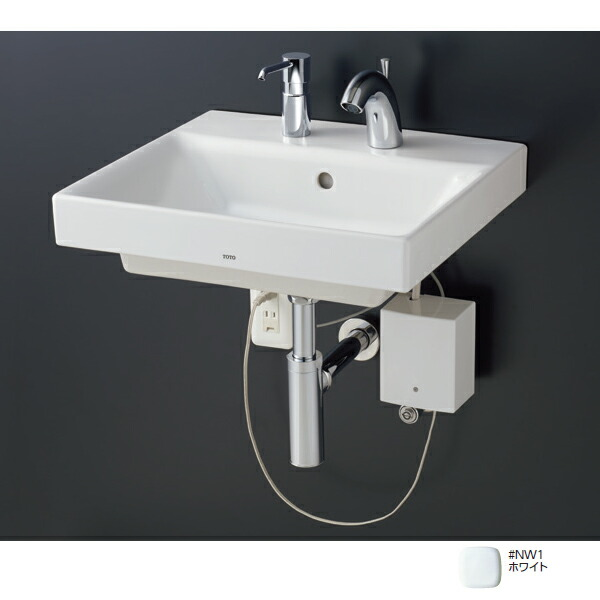 【LSC722ABSNW】TOTO 壁掛洗面器 ベッセル式洗面器セット一式 NW1(ホワイト) 【トートー】