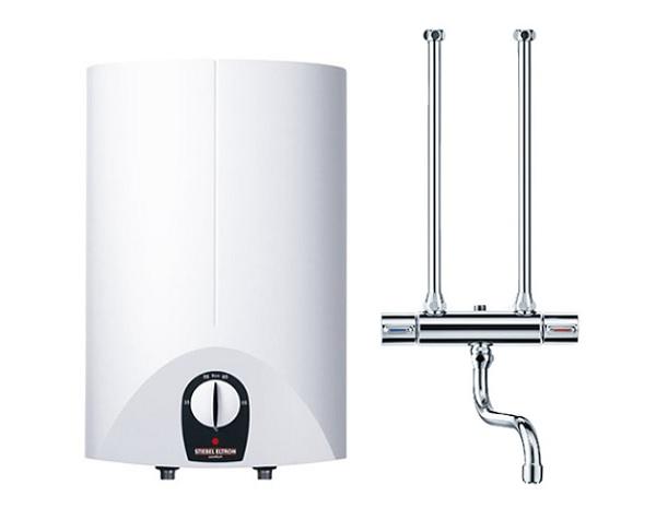 【在庫有り】SN-15SL 日本スティーベル 貯湯式電気温水器 単相100V 624W タンク容量15L 元止め式