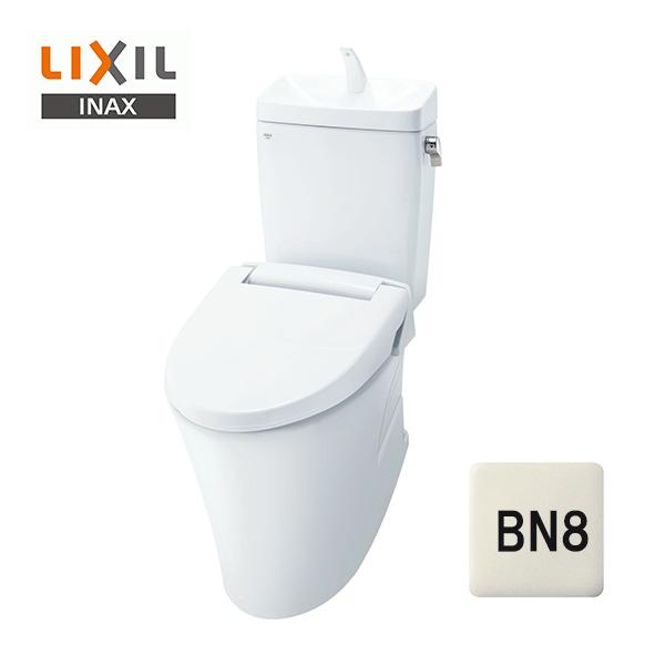 在庫有り【YBC-ZA10H+YDT-ZA180H】リクシル アメージュZ便器 リトイレ フチレス 手洗い付 床250~550mm アクアセラミック BN8(オフホワイト)【LIXIL】