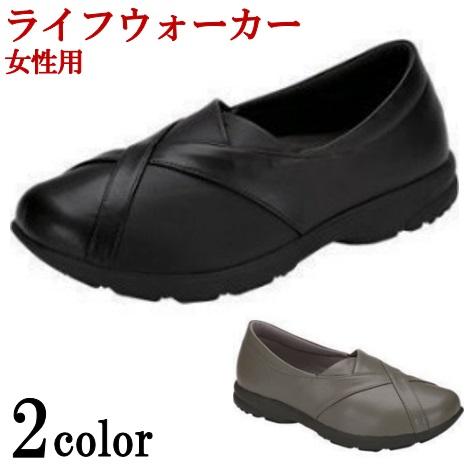 アシックス asics 介護シューズ レディース 女性 介護 靴 ライフウォーカー ボシサポート1(W) 3E相当【送料無料】