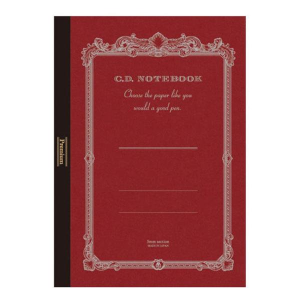 アピカ CDS150SプレミアムCDノート A4 店 人気急上昇 5ミリ方眼罫 96枚 高級ノート なめらか シルク 紳士なノート