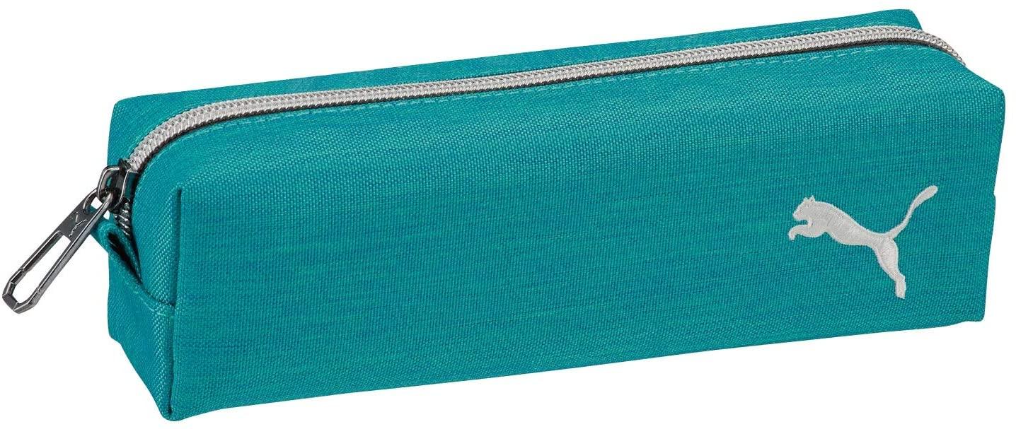 プーマ ペンケース スリム 宅配便送料無料 ヘザー PM229GR 2020A W新作送料無料 ミントグリーン