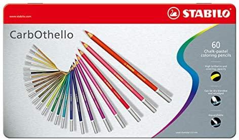 スタビロ 水彩色鉛筆 カーブオテロ 60色セット 1460-6