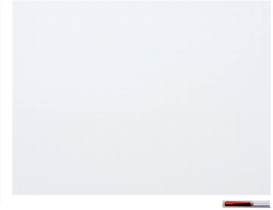 マグエックス マグネット式ホワイトボードシート 暗線入 特大 プロジェクター仕様 MSHP-90120-M