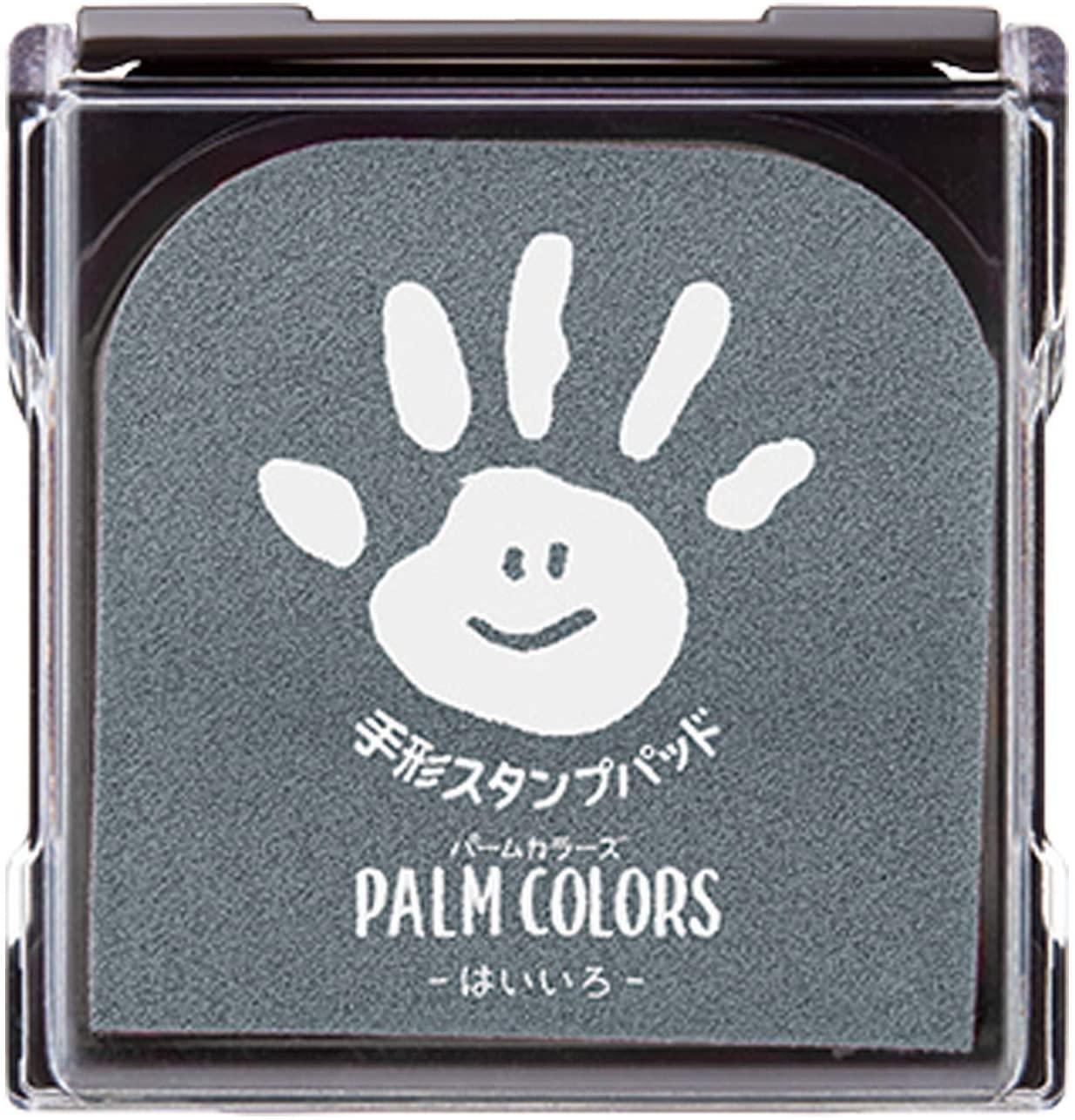 新作販売 シャチハタ 手形スタンプパッド PalmColors HPS-A 定番の人気シリーズPOINT ポイント 入荷 はいいろ H-GR