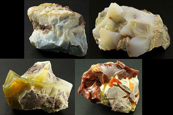 【原石】オパール(オーストラリア産) 1個※DM便・ネコポス不可※ 【パワーストーン 天然石 アクセサリー】