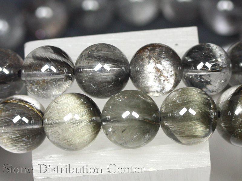 高品質ブレスレット プラチナルチルクォーツ4A約9~9 5mmケース付DM便・ネコポス不可パワーストーン 天然石 アクセサリー レディース メンズYy6gb7fv