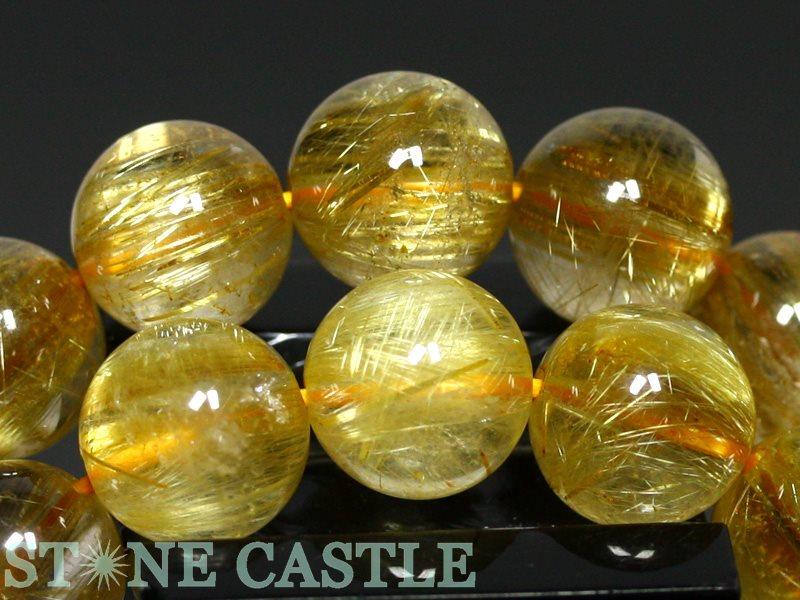 高品質ブレスレット 極太タイチンルチルクォーツ6A約11 5~12mmケース付パワーストーン 天然石 アクセサリー レディース メンズ6gf7Ybvy