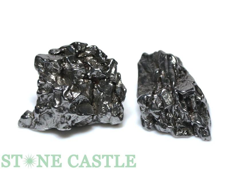 メテオライト 原石 高級一点物 永遠の定番 天然石 パワーストーン 意思を強くする アクセサリー No.31 メテオライト隕石 ☆原石一点物☆ 有名な スーパーセール 2個セット