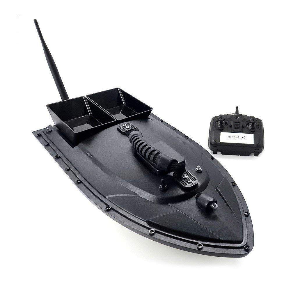 ラジコンボート 釣り 電動 ラジコン 船 釣り 道具 エサ フィッシング ツール D06 船 無人機 ドローン RC 並行輸入品 ゆうパック