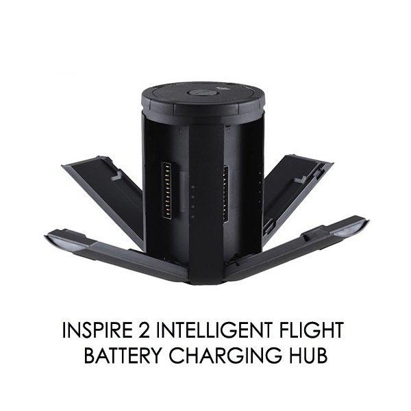 DJI Inspire 2 インテリジェント part 8 フライト バッテリー ハブ バッテリー専用の充電ハブ USBポート