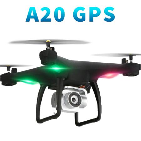 ドローン GPS カメラ付き A20G 送信機付き ラジコン スマホ 空撮 VS ファントム 入門機 ドローン カメラ付き gps 日本語説明書付き 並行輸入品 ゆうパック