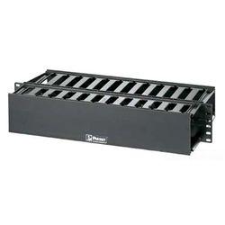 パンドウイット 19インチ用ダクト型ケーブル管理パネル両面ダクト付き (2U)(WMP1E) 取り寄せ商品