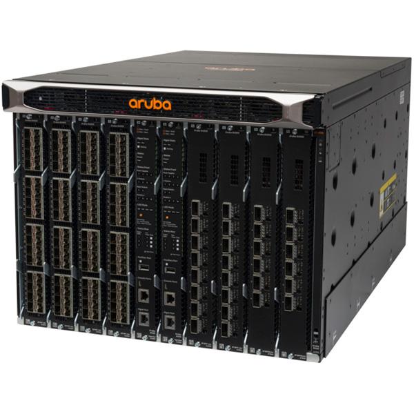 日本ヒューレット・パッカード HPE Aruba 8400 8slot Chassis/3xFan Trays/18xFans/Cable Manager/X(JL375A) 取り寄せ商品