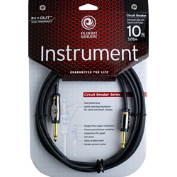 Planet Waves Circuit Breaker Instrument Cable 30FT(約9.1m) S/S(PW-AG-30) 仕入先在庫品