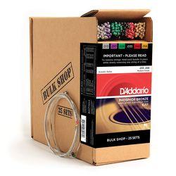 Daddario ダダリオ ダダリオ アコースティックギター弦 Bulk Shop EJ17-B25 仕入先在庫品