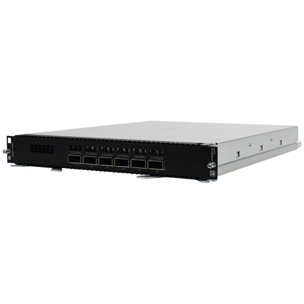 日本ヒューレット・パッカード HPE Aruba 8400X 6port 40GbE/100GbE QSFP28 Advanced Module(JL366A) 取り寄せ商品
