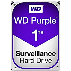 WESTERN DIGITAL WD10PURZ WD Purple 監視用 3.5インチ内蔵HDD 1TB SATA6Gb/s 5400rpm 目安在庫=○