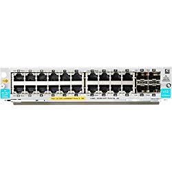 日本ヒューレット・パッカード HPE Aruba 20port PoE+ / 4port SFP+ v3 zl2 Module(J9990A) 取り寄せ商品