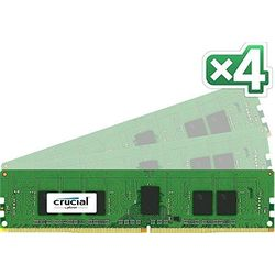 Crucial 16GB Kit (4GBx4) DDR4 2133 MT/s (PC4-2133) CL15 SR x8 ECC Registered D(CT4K4G4RFS8213) 取り寄せ商品