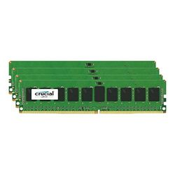Crucial 32GB Kit (8GBx4) DDR4 2133 MT/s (PC4-2133) CL15 SR x4 ECC Registered D(CT4K8G4RFS4213) 取り寄せ商品