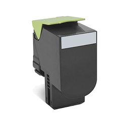 純正品 レックスマークインターナショナル 70C80K0 ブラックリターントナーカートリッジ 1000枚 (70C80K0) 取り寄せ商品
