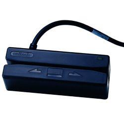 ユニテック・ジャパン 磁気カードリーダ、3トラック、USBケーブル、黒 MS242-GUCB00-SG 取り寄せ商品
