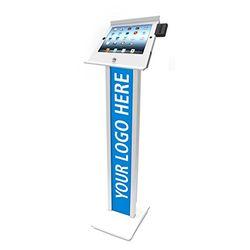 Compulocks スライド・ブランドフロアスタンド(iPad mini) ホワイト(140W250MPOSW) 取り寄せ商品