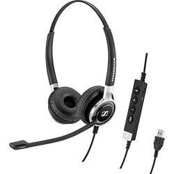ゼンハイザー(Sennheiser) アクティブノイズキャンセル ヘッドセット SC 660 ANC USB(508311) 取り寄せ商品