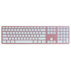 Matias Wireless Aluminum Keyboard Rose Gold 英語配列 FK418BTRG 取り寄せ商品