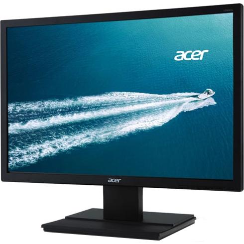 acer 19.5型ワイド液晶ディスプレイ V206WQLbmd (非光沢/1440x900/250cd/100000000:1(ACM)/6ms/ブラック/ミニD-Sub 15ピン・DVI-D 24ピン(HD 目安在庫=△