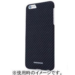 TUNEWEAR TUNEWEAR CarbK for iPhone 6 Plus ブラック TUN-PH-000383 取り寄せ商品