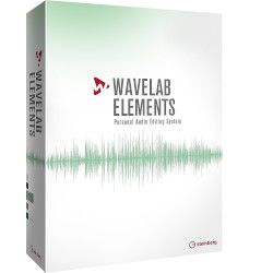 Steinberg WaveLab Elements(対応OS:WIN&MAC)(WAVELABEL/R) 取り寄せ商品