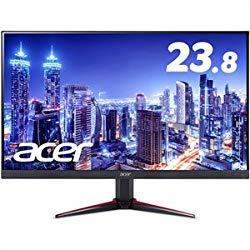 acer 23.8型ワイド液晶ディスプレイ VG240Ybmiix (IPS/非光沢/1920×1080/16:9/250cd/m^2/100000000:1/1ms/ブラック/ミニD-Sub 15ピン・HDM 目安在庫=○