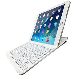 マグレックス Backlight Bluetoothキーボード for iPad mini ホワイト MK8100UV-WH 取り寄せ商品