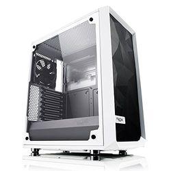 Fractal Design Meshify C White Tempered Glass(FD-CA-MESH-C-WT-TGC) 目安在庫=○