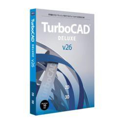 キヤノンITソリューションズ TurboCAD v26 DELUXE 日本語版(対応OS:その他)(CITS-TC26-002) 目安在庫=△
