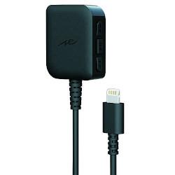 ラディウス Headphone amplifier with DAC for Lightning ブラック AL-LCH21K 取り寄せ商品
