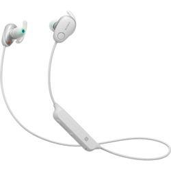 ソニー ワイヤレスノイズキャンセリングステレオヘッドセット ホワイト(WI-SP600N/W) 取り寄せ商品