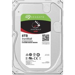 Seagate Ironwolf シリーズ 3.5inch SATA 6Gb/s 8TB 7200rpm 256MB(ST8000VN004) 取り寄せ商品