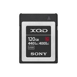 ソニー XQDメモリーカード Gシリーズ 120GB QD-G120F 取り寄せ商品
