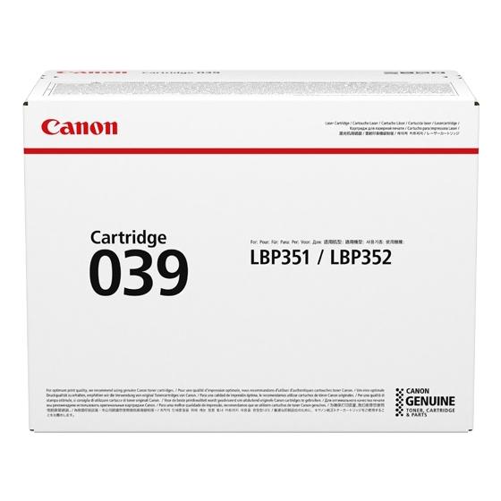 キヤノン CRG-039 トナーカートリッジ039(0287C001) 取り寄せ商品