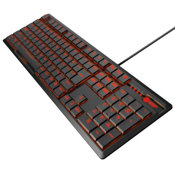 【P10E】エレコム ゲーミングキーボード/ARMA/薄型メカニカル/フルキー/有線/ブラック(TK-ARMA50BK) メーカー在庫品