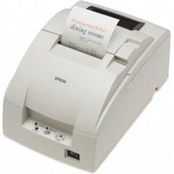 エプソン TM-U220PD レシートプリンター/普通紙対応/76mm幅/クールホワイト 取り寄せ商品