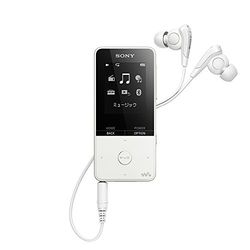 ソニー ウォークマン Sシリーズ メモリータイプ 16GB ホワイト NW-S315/W 取り寄せ商品