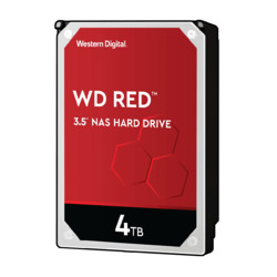 WESTERN DIGITAL WD Red SATA 6Gb/s 256MB 4TB 5400rpm class 3.5inch AF対応(WD40EFAX) 目安在庫=○