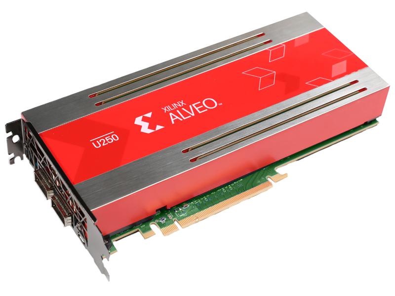 日本ヒューレット・パッカード Xilinx Alveo U250 アクセラレータ(R4B03C) 取り寄せ商品