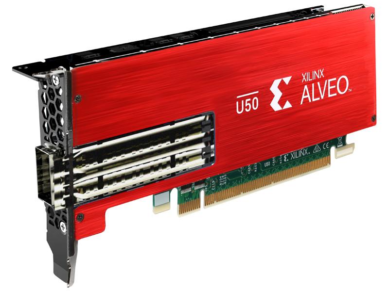 日本ヒューレット・パッカード Xilinx Alveo U50 アクセラレータ(R4B02C) 取り寄せ商品
