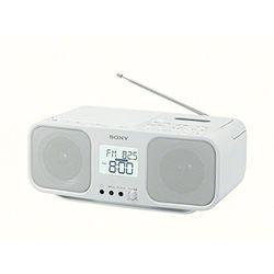 ソニー CDラジオカセットコーダー ホワイト CFD-S401/W 取り寄せ商品